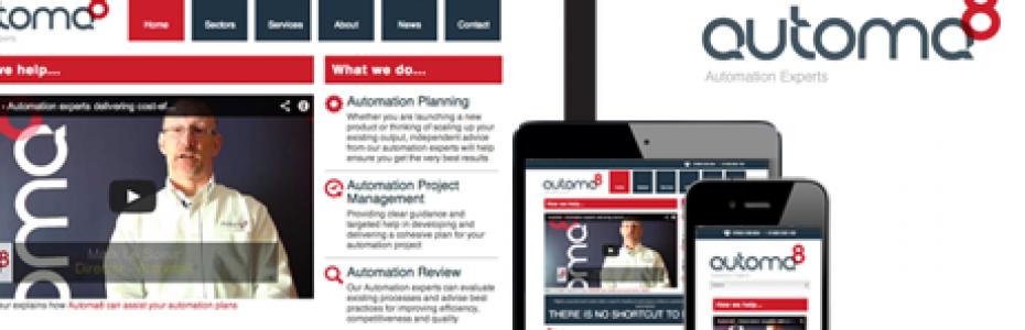 Automa8 responsive site