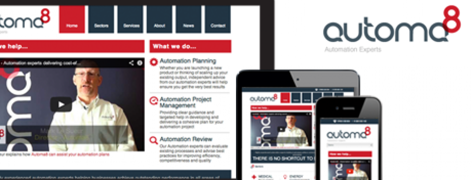 Automa8 responsive site